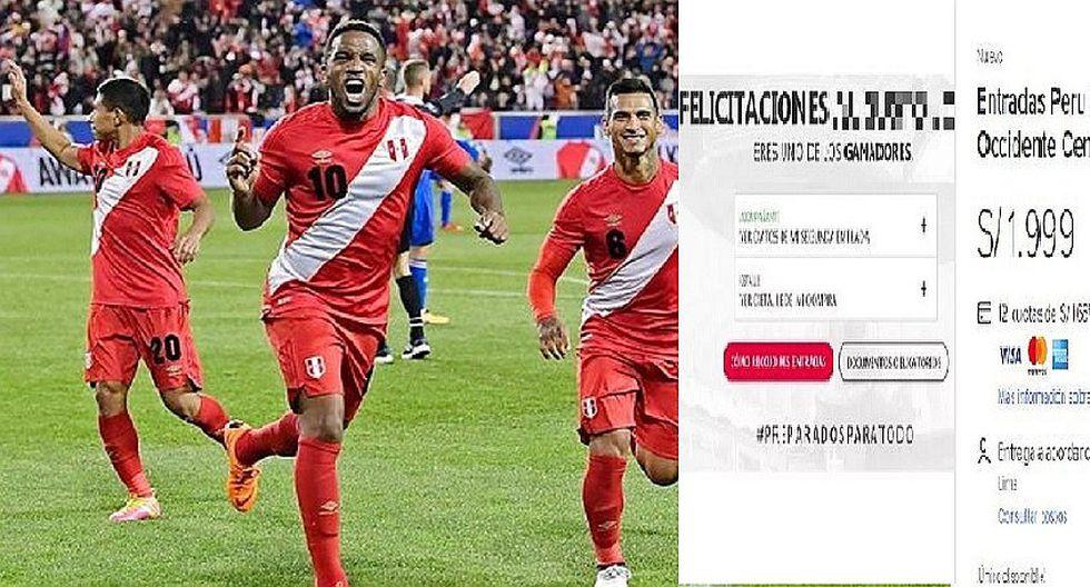 Perú vs Escocia: Revendedores ofrecen entradas hasta en S/ 1999