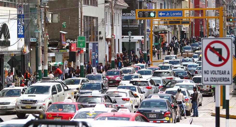 3,500 colectivos de Huancayo con las horas contadas