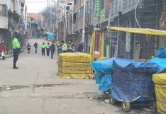 Detienen a sospechoso que portaba arma de fuego en La Rinconada