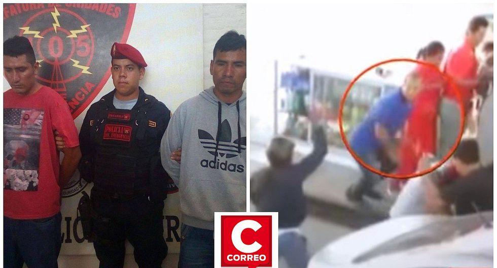 """Las cámaras de seguridad captan a estos """"marcas"""" en pleno atraco (VIDEO)"""
