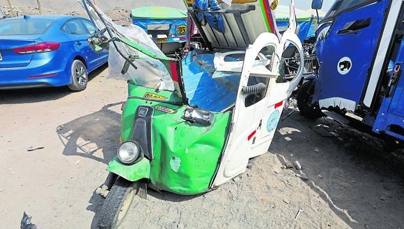 Fatídico accidente en el Día del Padre, en la zona de Huaycán. (Foto: GEC)