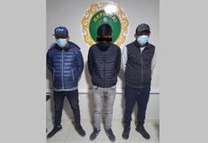 """Juliaca: Desbaratan a presunta banda delincuencial """"Los Caminantes del Sur"""""""