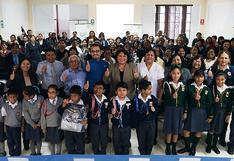 'Aprender para crecer': el proyecto que beneficia a más de 7800 niños de Pisco