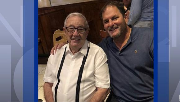Padre e hijo que eran reconocidos médicos fallecieron debido al coronavirus en Florida. Foto: Captura de video Univisión