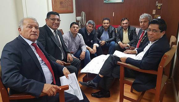 Autoridades de Moquegua se unen para sacar adelante Paltuture