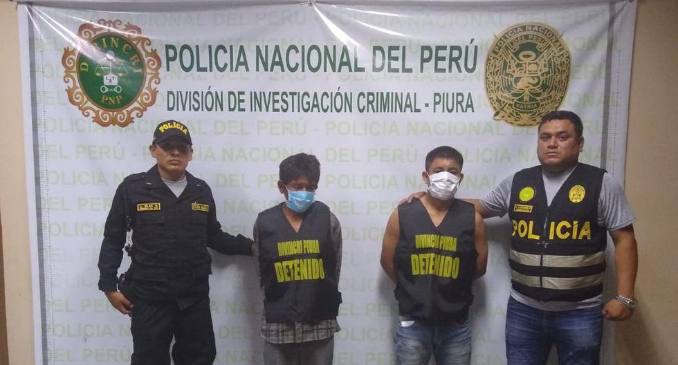 Piura. El soldado EP José Elías (19) y su hermano  Víctor Elías el día de su detención. (GEC)
