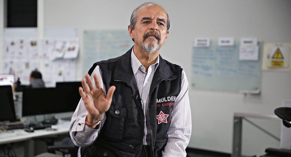 Mauricio Mulder, del Partido Aprista. (Foto: GEC)