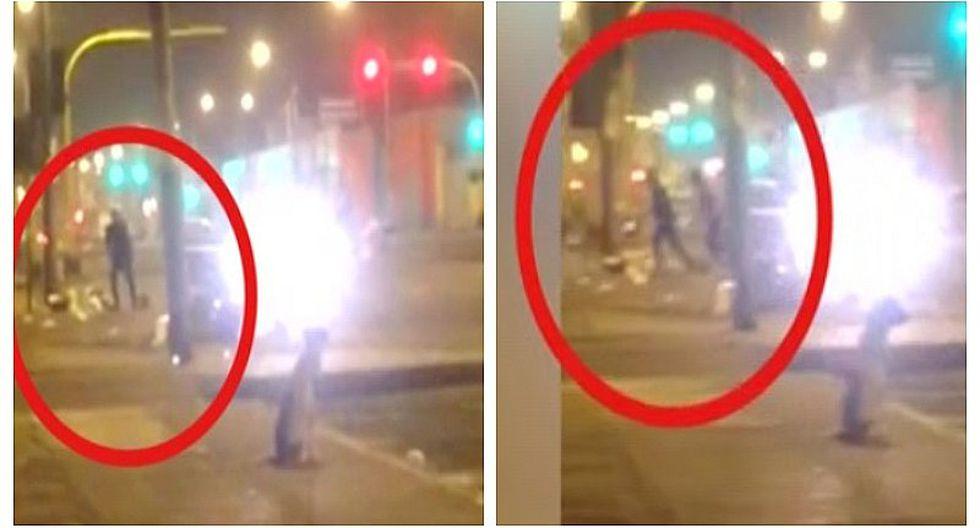 La Victoria: Asaltan a conductor en avenida Parinacochas ante mirada atónita de transeúntes (VIDEO)