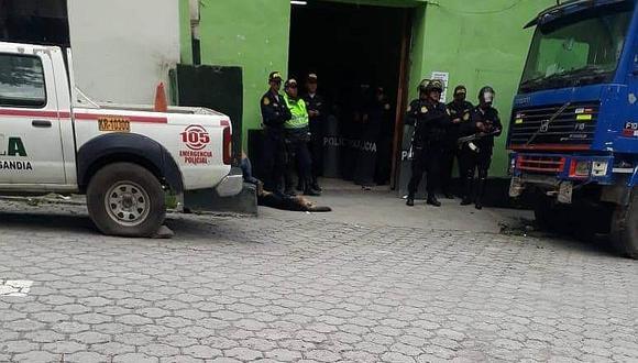Sandia: ronderos retienen a adolescentes implicados en robo de vehículo
