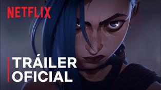 Arcane: Mira el tráiler oficial de la nueva serie animada de League of Legends en Netflix