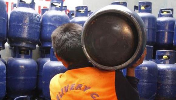 La crisis política podría afectar el precio del balón de gas. (Foto: GEC)