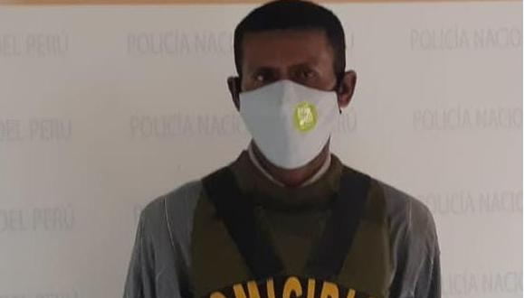 """Ica: cae sujeto apodado """"El Moreno"""" acusado por estar inmerso en feminicidio (Foto: PNP)"""