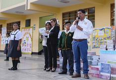 Camisea entregó libros de texto a 8 mil niños de Pisco