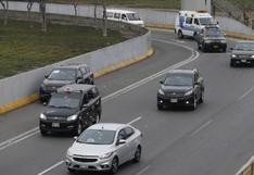 Este domingo 1 de agosto está permitido el uso de autos particulares en Lima y Callao