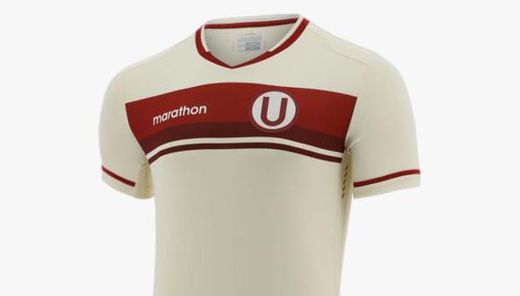 La camiseta de Universitario de Deportes cuesta S/. 249.90. (Foto: Marathon)