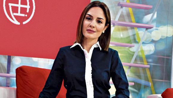Mávila Huertas es la nueva conductora de Cuarto Poder. | Foto: Difusión.