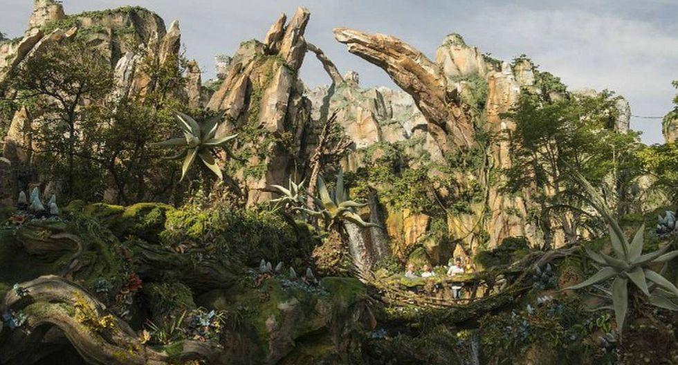 Abren parque temático de la película 'Avatar' tras 6 años de construcción [FOTOS]
