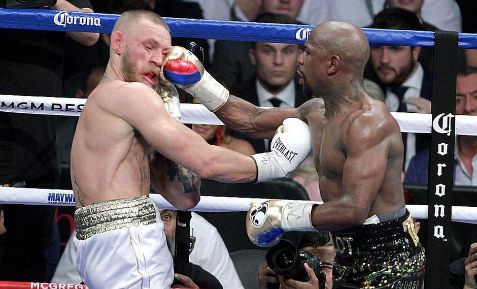 'La pelea del siglo': Las brutales imágenes de la pelea entre Mayweather y McGregor (VIDEO)