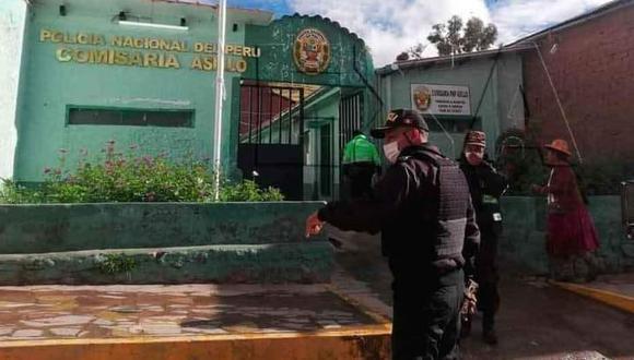 El fiscal de turno y los policías de la comisaría de Asillo realizan las investigaciones para esclarecer la causa del accidente. (Foto: Referencial)