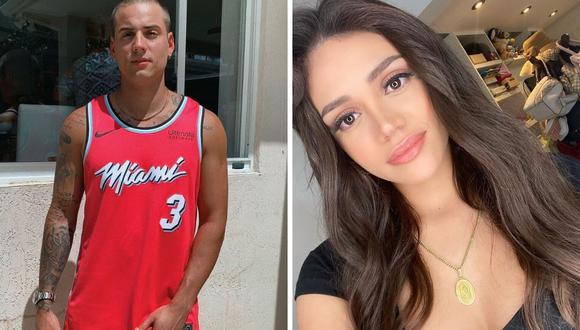 Mayra Goñi señaló en sus redes sociales que el fin de su relación con Nesty se dio por la distancia. (Fotos: Instagram @mayragoni / @realboynesty)