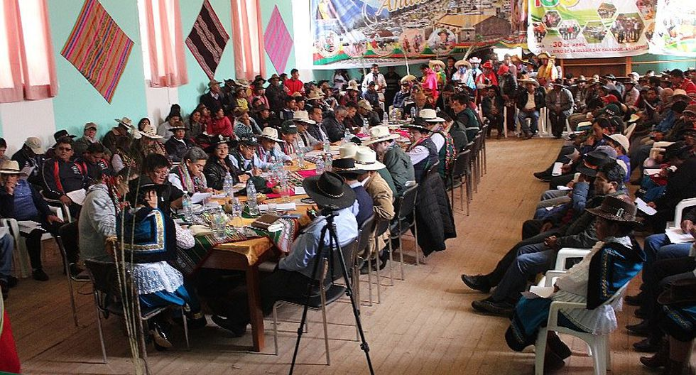 Alcaldes y funcionarios instalaron mesa de trabajo para intervención del Minagri