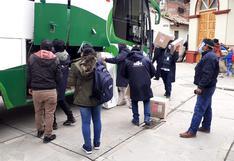 Huancavelica: Continúa el despliegue del material electoral