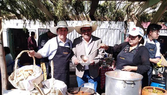 Más de 6 mil platos vendidos en Festival del Adobo en Cayma