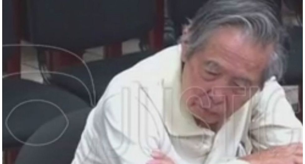 Alberto Fujimori mostró somnolencia durante audencia del caso Pativilca (FOTOS)