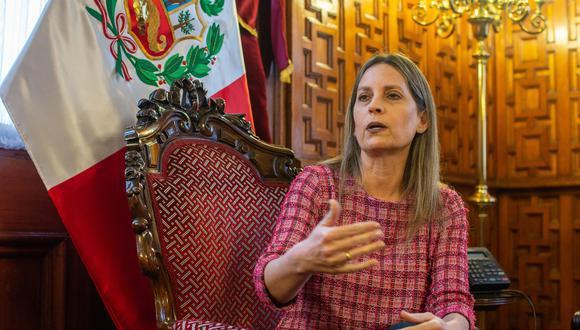María del Carmen Alva también destacó el mensaje del presidente Pedro Castillo, quien instó desde la OEA a la llegada inversión privada en el Perú. (Foto: El Comercio)