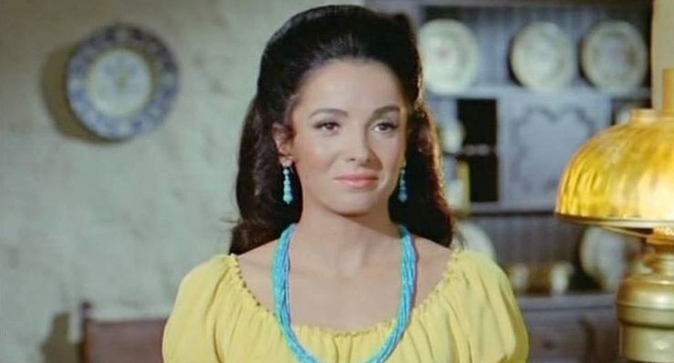 """Linda Cristal, Victoria Cannon de """"El gran chaparral"""", falleció en Beverly Hills, en California. (Foto: NBC)"""