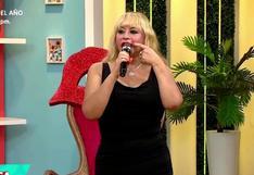 Susy Díaz confiesa que se tatuó los labios de color rojo (VIDEO)