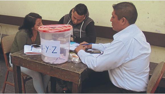 Anulan elecciones en el Colegio de Abogados de La Libertad