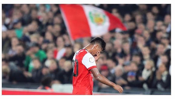 Renato Tapia: el Feyenoord le envía este mensaje tras lesión (FOTO)
