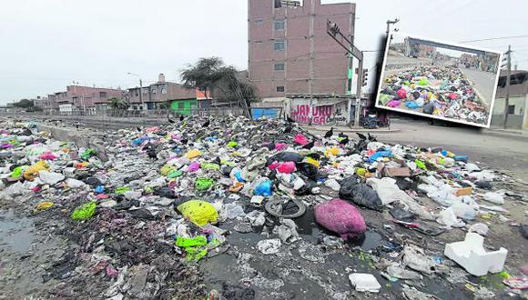Trabajador de comuna leonardina revela que residuos sólidos no se recojen desde el pasado 16 de agosto y pobladores la queman contaminando el aire.