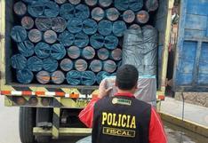 Juliaca: Intervienen camión con mercadería de contrabando