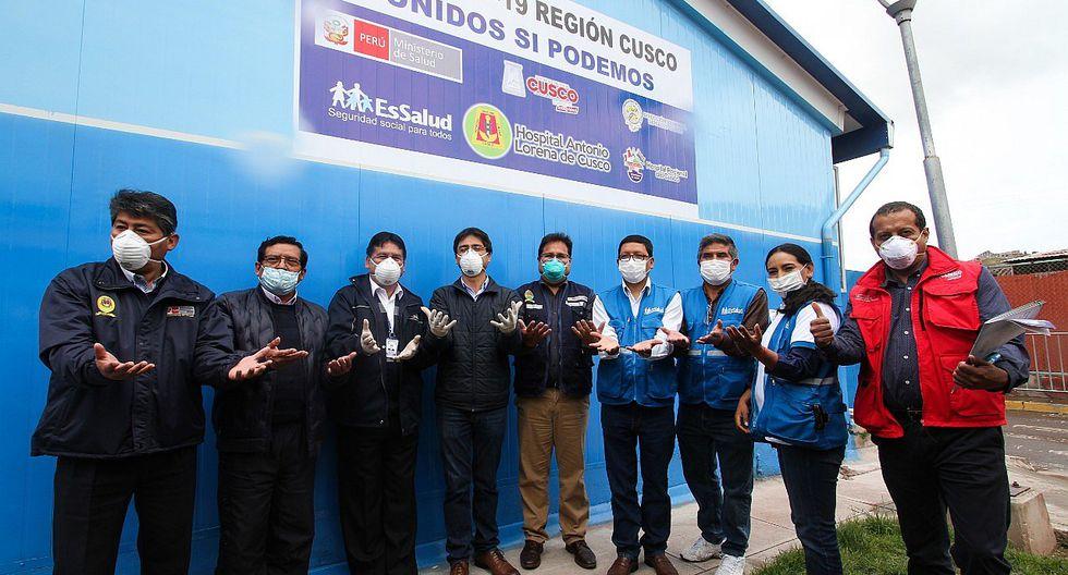 Unidad de Cuidados Intensivos COVID-19 entró en funcionamiento en Cusco (FOTOS)