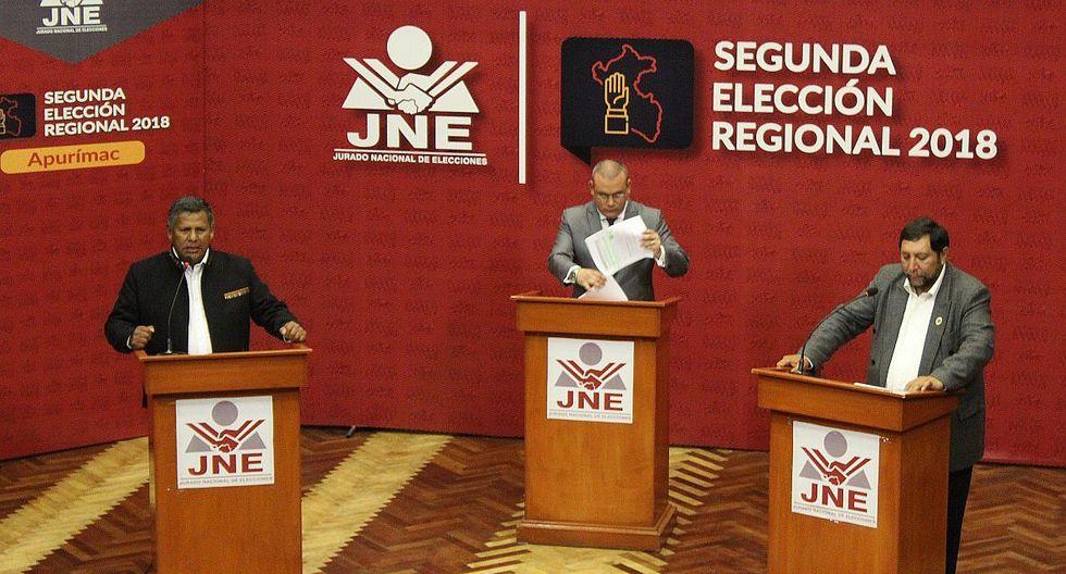 Candidatos a segunda vuelta en Apurímac dijeron más de lo mismo