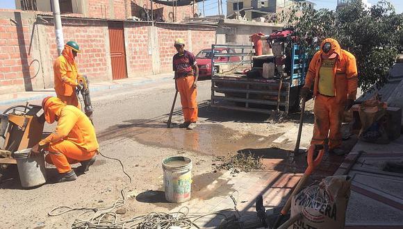 EPS detecta 50 asociaciones de vivienda con conexiones ilegales de agua potable