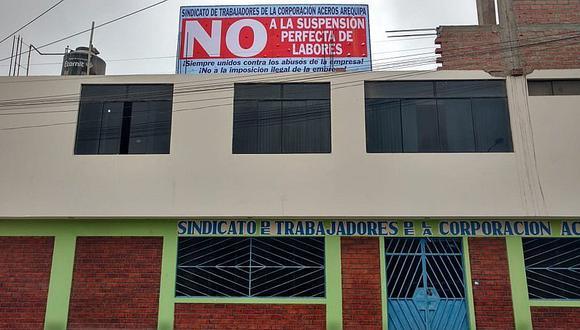 Pisco: Trabajadores de Aceros Arequipa se oponen a la suspensión perfecta