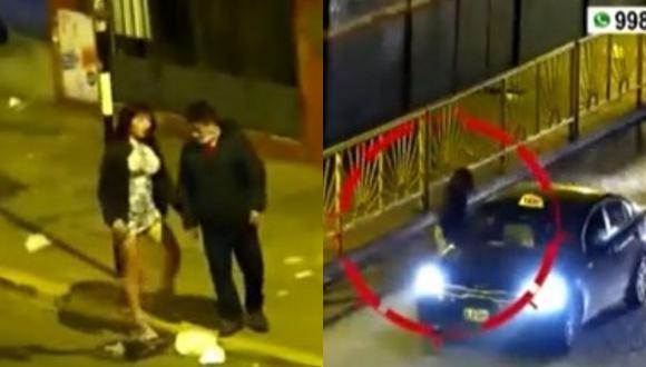 Delincuente apodado 'La Uchulú' fue capturado en El Agustino. (Foto: Captura América TV)