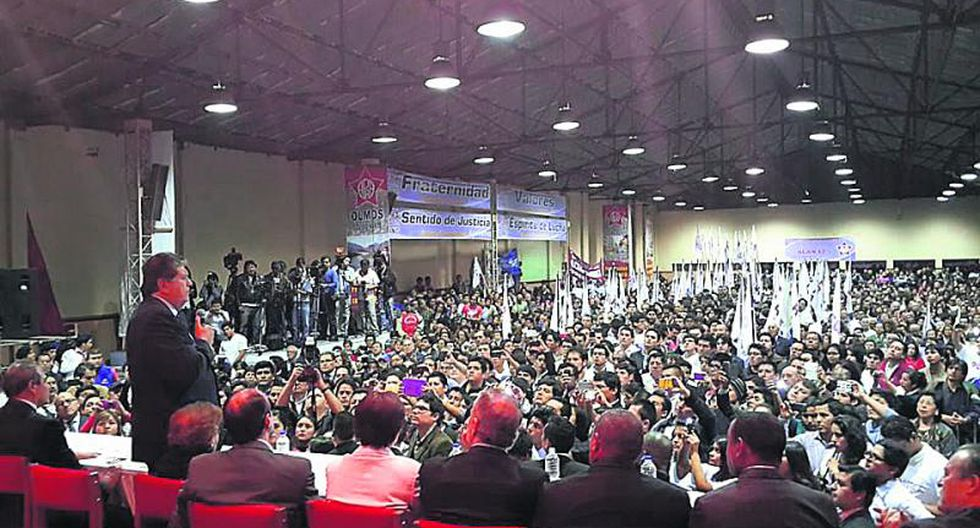 """Alan García sobre logros de su gobierno: """"El Apra gana por goleada"""""""
