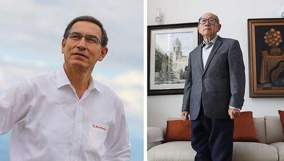 Martín Vizcarra  lamenta pérdida de sismólogo Julio Kuroiwa (FOTO)