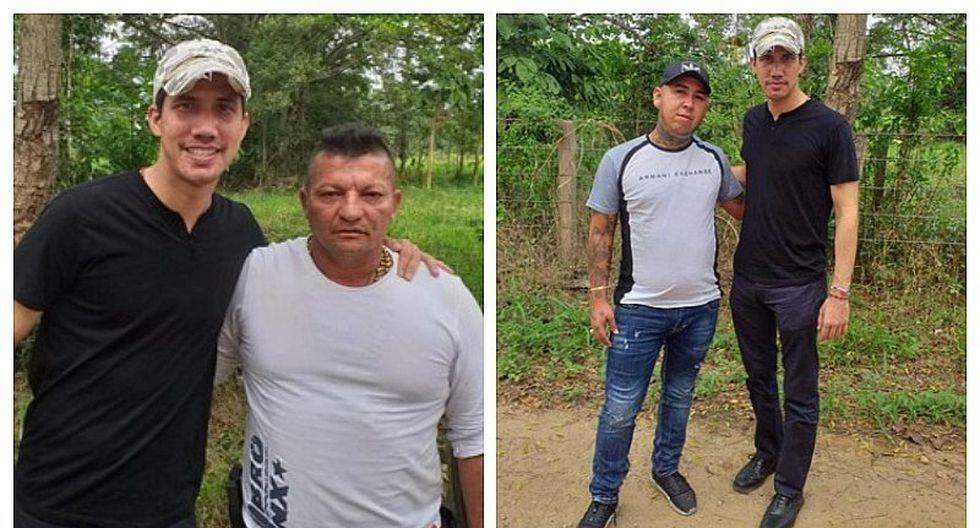 Filtran fotos de Juan Guaidó junto a delincuentes en la frontera con Colombia