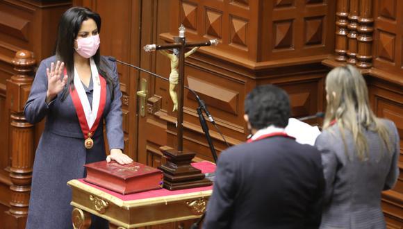 Vicepresidenta del Congreso envía oficio a PCM para que Pedro Castillo transparente registro de visitas. (Foto: Congreso)