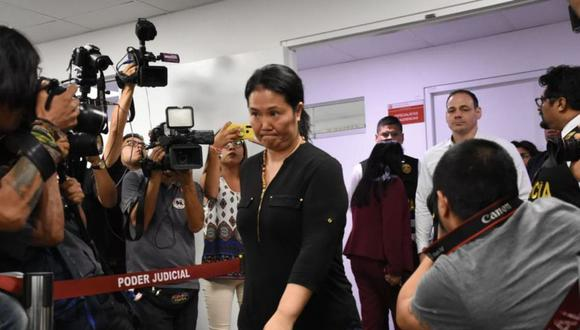 Víctor Zúñiga fue quien ordenó 15 meses de prisión preventiva contra la excandidata presidencial. (Foto: GEC).