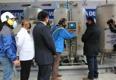 Huancavelica: ponen en funcionamiento planta de oxígeno que beneficiará a más de 160 mil personas