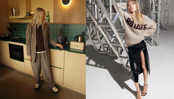 """""""Vestirse por completo de beige ya no es ni clásico ni aburrido, sino una estrategia para conseguir un estilismo redondo"""", aclara la página web Vogue España. (Fotos: @lindatol_, @_jeanettemadsen_)"""