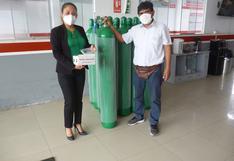 Asociación Chincha Solidaria asiste con oxígeno a afectados por COVID-19