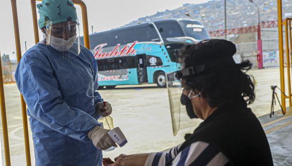 Coronavirus en Perú: más de 2 millones de pasajeros viajaron en buses interprovinciales (Foto: MTC).