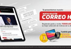 Correo Hoy, el boletín informativo de Diario Correo